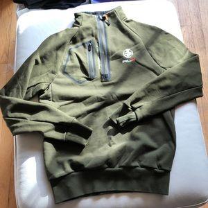 Ralph Lauren army green mens' S sweatshirt